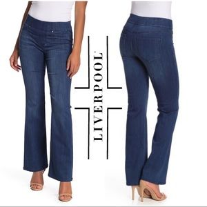 "Liverpool ""The Bootcut"" Pull On Denim Stretch Jean"